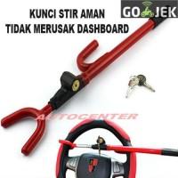 Kunci Stir Setir Mobil Model Cagak / Safety Lock Car