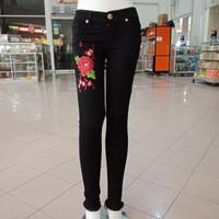Jual celana panjang jeans size 27 28 29 30 bordir strech murah bagus jamin Murah