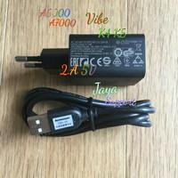 CHARGER LENOVO A6000 A7000 VIBE K4 K5 A6010 ORIGINAL 2.A 5V USB MICRO