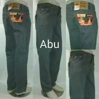celana levis 505 warna ABU ABU jeans reguler fit model standard