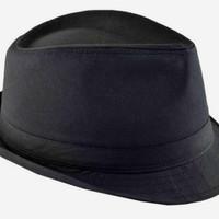Topi Fedora cotton / Topi tompi / Topi classic fedora cotton unisex