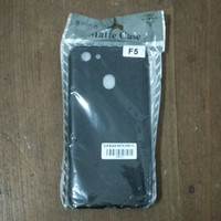 Case Slim Black Matte for Oppo F5