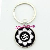 Gantungan Kunci Namaste Ganci Yoga Simbol Namaste
