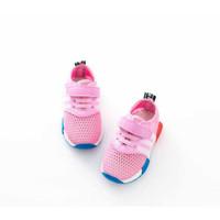 sepatu kets pink untuk anak perempuan