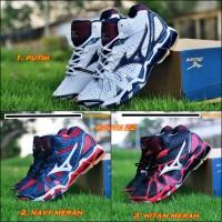 Sepatu Sport Volley Voli Mizuno Wave Tornado 9 Tinggi (MID) Premium