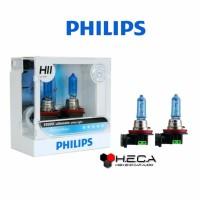 Bohlam PHILIPS H11 Diamond Vision 5000k Putih ORIGINAL