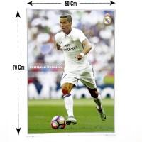 Poster Gambar Cristiano Ronaldo Real Madrid