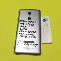 Tutup Casing HP REDMI NOTE 3 KATE PRO LIGHT - Backdoor Back door Note3
