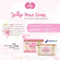 THAILAND IMPORT BPOM JELLYS PURE SOAP SABUN JELLY IMPORT BPOM