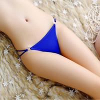 (Dijamin) Celana Dalam G-string / Thong Wanita / Lace V-string #19