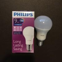 (Diskon) Lampu Bohlam LED Philips 9 Watt Cool Day Light