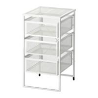 TERBARU IKEA LENNART Unit laci, putih