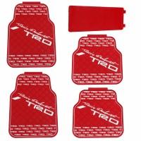 Karpet Mobil Variasi Universal TRD Merah