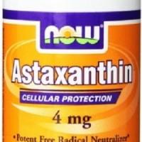 Now Astaxanthin 4mg 4 mg 90 softgels Now Foods Food MURAH GROSIR