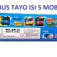 Mainan Anak Bus Tayo paket isi 4 Little Bus Tayo