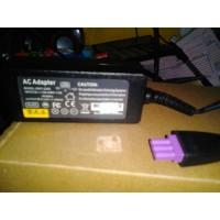 Adaptor ungu power supply 455 mA 22V Printer HP Deskjet 1010 Kualied