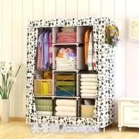 Produsen lemari pakaian / baju anak gambar motif seperti kartun frozen