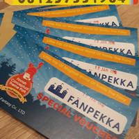 Tiket fanpekka AEON JGC