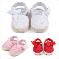 PW59 - prewalker rajut ribbon sepatu baby anak bayi girl cewek
