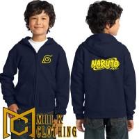 Hoodie Zipper anak anak Naruto - Milk CLothing