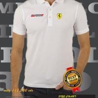Polo shirt Ferrari Scuderia BERKUALITAS TERBARU