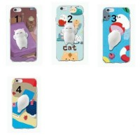 Cover Cute Cat Squishy Casing Case For Samsung Galaxy S6 Handphone