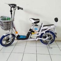 Harga sepeda listrik mars platinum sepedah motor bike tanpa sim | Pembandingharga.com