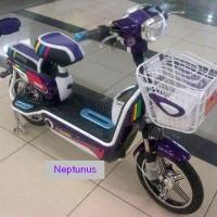 Harga sepeda listrik neptunus sepedah motor bike superrider spt selis | Pembandingharga.com
