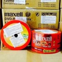 Promo Dvd-R Maxell 16X 4.7Gb (55Pcs) Diskon