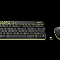 Dijual Keyboard + Mouse Wireless Logitech Mk240 Nano Wireless Combo -