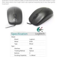 Promo Mouse Logitech B 100 Unik