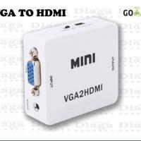 Dijual Vga To Hdmi Converter - Adapter Vga To Hdmi Limited