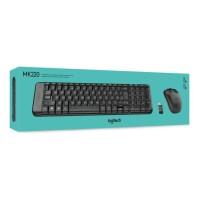 Jual Logitech Wireless Keyboard Mouse Combo Mk220 Berkwalitas
