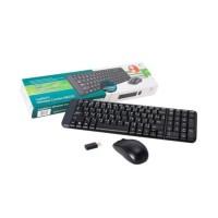 Promo Logitech Mk220 Combo Wireless Mouse Keyboard Berkwalitas