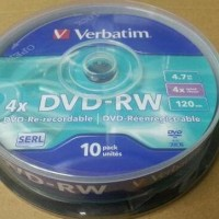 Jual Dvd-Rw 4X 4.7Gb Verbatim Promo