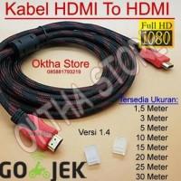 Promo Kabel Hdmi To Hdmi 10 Meter High Quality & High Speed Unik