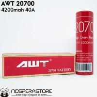 PROMO BATTERY AWT 20700 - 4200MAH 40A - AUTHENTIC