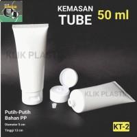 Jual KEMASAN TUBE 50ML FLIPTOP/TEMPAT SABUN CAIR KRIM BOTOL PLASTIK Murah
