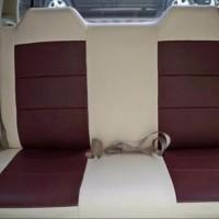 Sarung Jok Kulit Mobil Bahan Cherokee khusus Mobil Brio 2 Baris