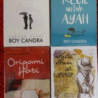 BUKU NOVEL TERBARU 1 paket isi 10 Novel karya BOY CANDRA