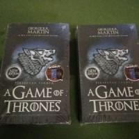 BUKU NOVEL TERBARU A Game Of Thrones - George RR Martin