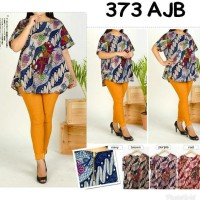 JUMBO BATIK 373 AJB BLOUSE BIGSIZE MATERIAL KATUN STRETCH FIT TO XXL