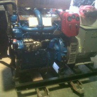 BARU GENSET OPEN DIESEL COPY STAMFORD AVR 38KVA 3PH FULL POWER