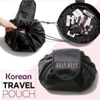 Korean Travel Pouch (Tas kosmetik model serut)