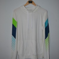 Jaket sweater hoodie american eagle off white active flex