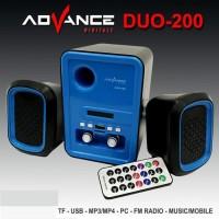 Harga speaker advance duo 200 t397 speaker laptop pc   Pembandingharga.com