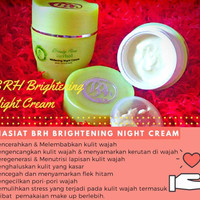BRH NIGHT CREAM / BEAUTY ROSE HERBAL / BRH SKINCARE