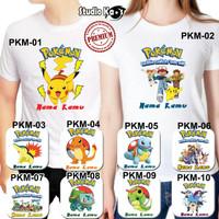 Kaos Pokemon / Baju Pokemon untuk Anak / Remaja
