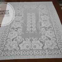 Taplak meja ukuran 100 x 150 cm / 939 jpl