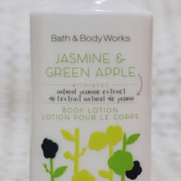 BBW Jasmine and Green Apple body Lotion